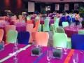 Rainbow room event decor