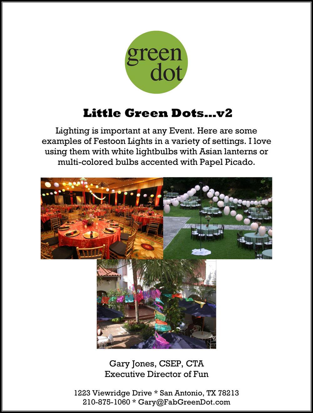 Little Green Dots - #2