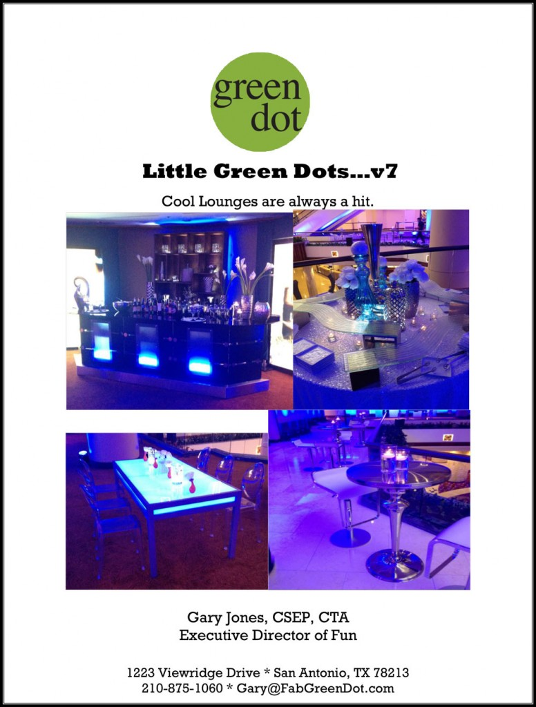 Little Green Dots #7